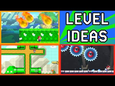 Super Mario Maker - 5 Level Creating Tips and Tricks - Tutorial