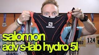 SALOMON ADVANCED SKIN S-LAB HYDRO 5 SET (5L Hydration Pack) - GingerRunner.com Review