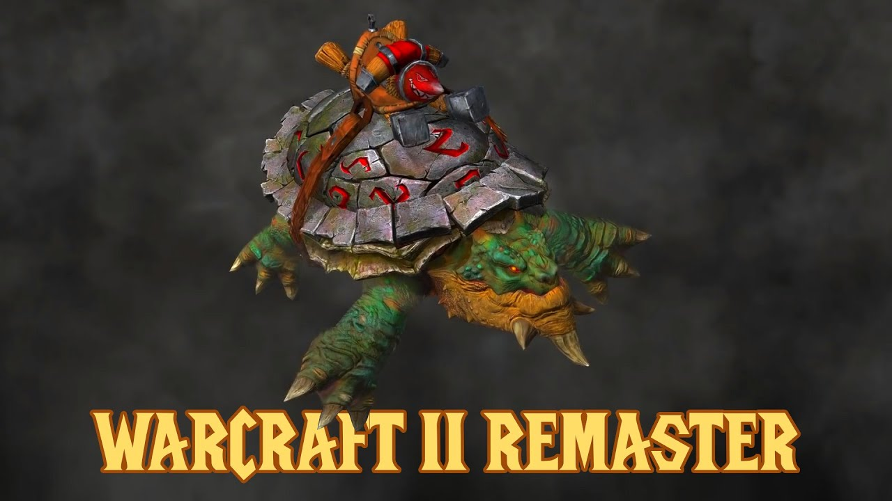 Download Warcraft 2 Remaster!