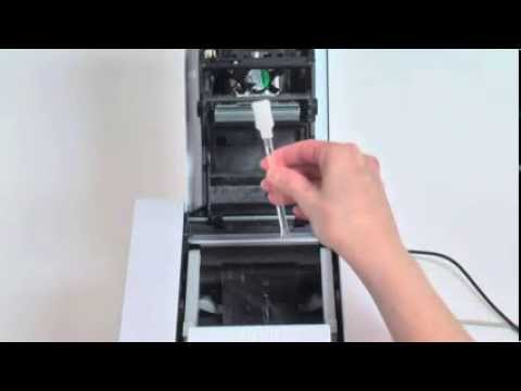 Evolis Primacy - How to do a routine printhead cleaning