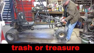 will it run? free junk gokart