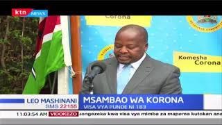 Msambao wa korona: Visa vya punde ni 183