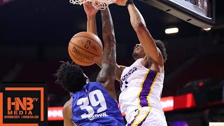 Los Angeles Lakers vs Detroit Pistons Full Game Highlights / July 15 / 2018 NBA Summer League