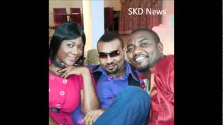 Mercy Johnson and John Dumelo on the set of Tchidi Chikere39s new moviewmv