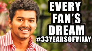 33 Years of Ilayathalapathy Vijay | Every Fan's Dream is here! | Behindwoods Tinsel Kathaigal