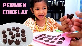 COKELAT MAKER 🍫 Cara Membuat Coklat Sendiri Dengan Cetakan - Mainan Anak Permen Cokelat Karakter