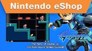 Nintendo eShop - MIGHTY GUNVOLT Campaign trailer