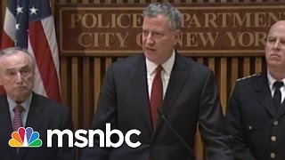 NYC Police Vs. Mayor De Blasio   All In   MSNBC