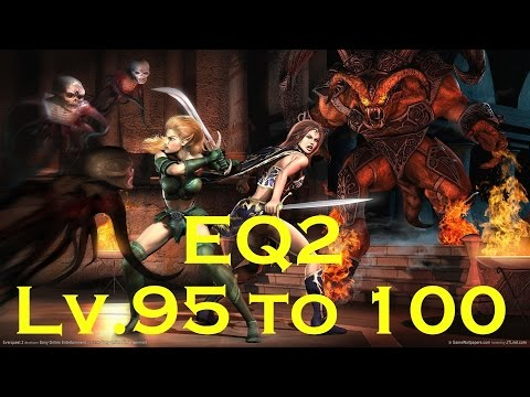 EverQuest 2: New Series Level 95 -100 What To Do! Lv.95 Berzerker Gameplay