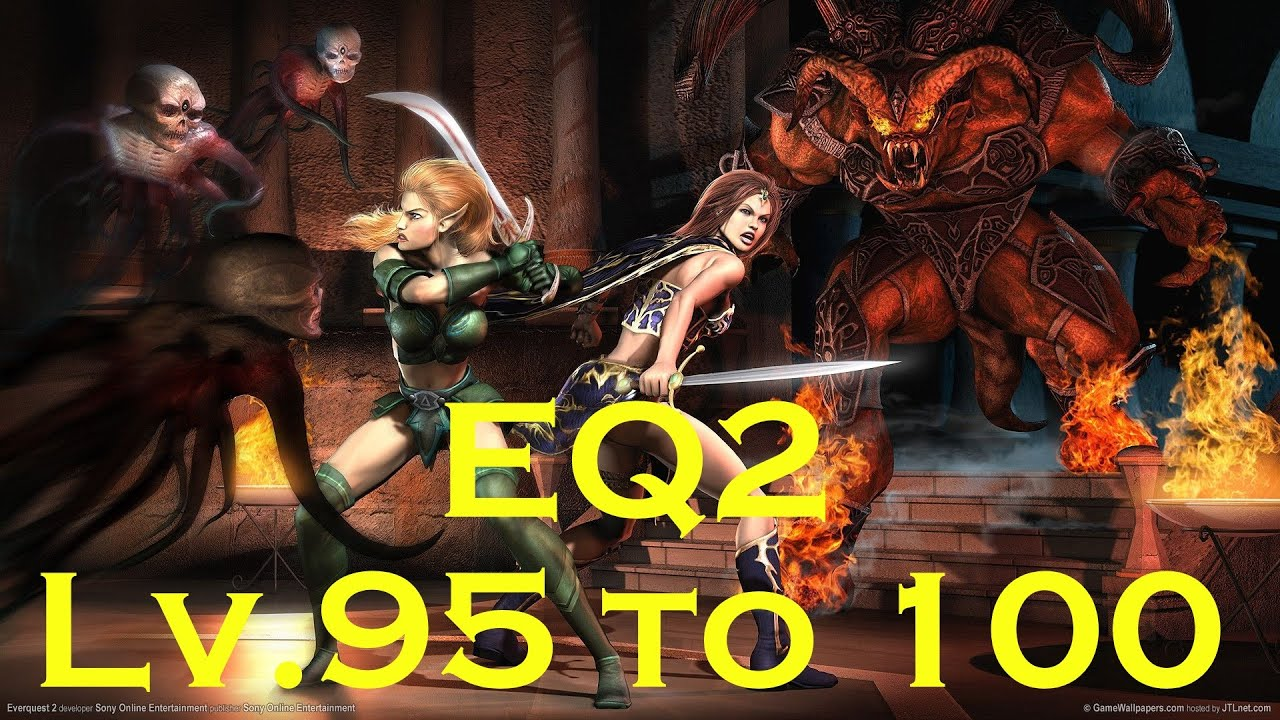 EverQuest 2: New Series Level 95 -100 What To Do! Lv 95 Berzerker Gameplay