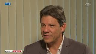 Haddad critica ausência de Jair Bolsonaro em debates