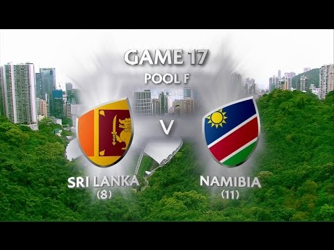 Sri Lanka vs Namibia - World Rugby Sevens Series Qualifier 2017