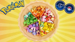 Learn Colors with Pokemon GO! Super Sorting Pie Surprise Toy with Preschool Minifigure Pokeball Toys