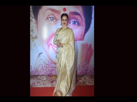 In Graphics: Yash Chopra Awards: Legendary Bollywood actress Rekha speaks her heart