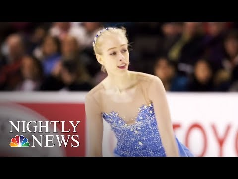 In Cinderella Story, Bradie Tennell Shines At The 2018 Winter Olympics   NBC Nightly News