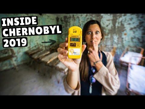 WHAT IT'S LIKE INSIDE CHERNOBYL (is it safe?)