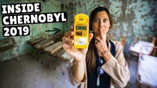 WHAT IT'S LIKE INSIDE CHERNOBYL (is it safe?)