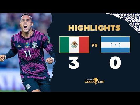 Highlights: Mexico 3-0 Honduras - Gold Cup 2021