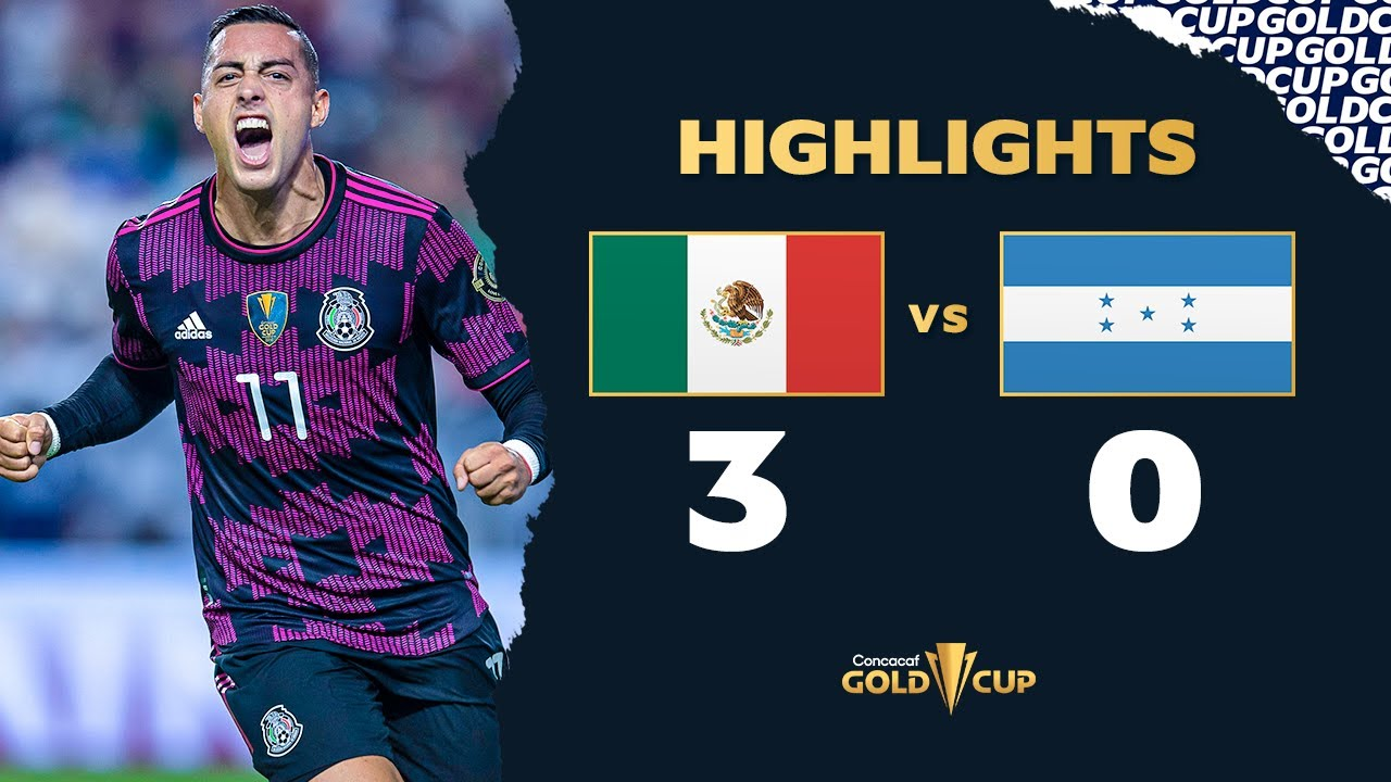 Goals and highlights: Mexico 3-0 Honduras in Gold Cup 2021