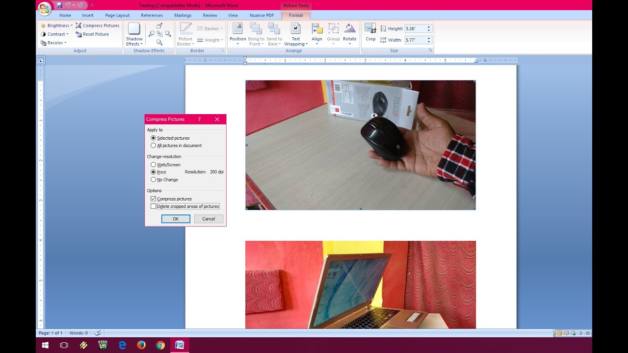 How to Compress Images in MS Word to Reduce File Size (Word 2003 ...