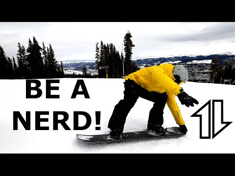 NERD It Up, And Get REALLY Good At SNOWBOARDING
