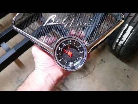 1955 Belair Vlog, Dash Clock Video 2