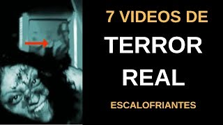 7 Vídeos de TERROR REAL Escalofriantes Vol. 5 l Pasillo Infinito