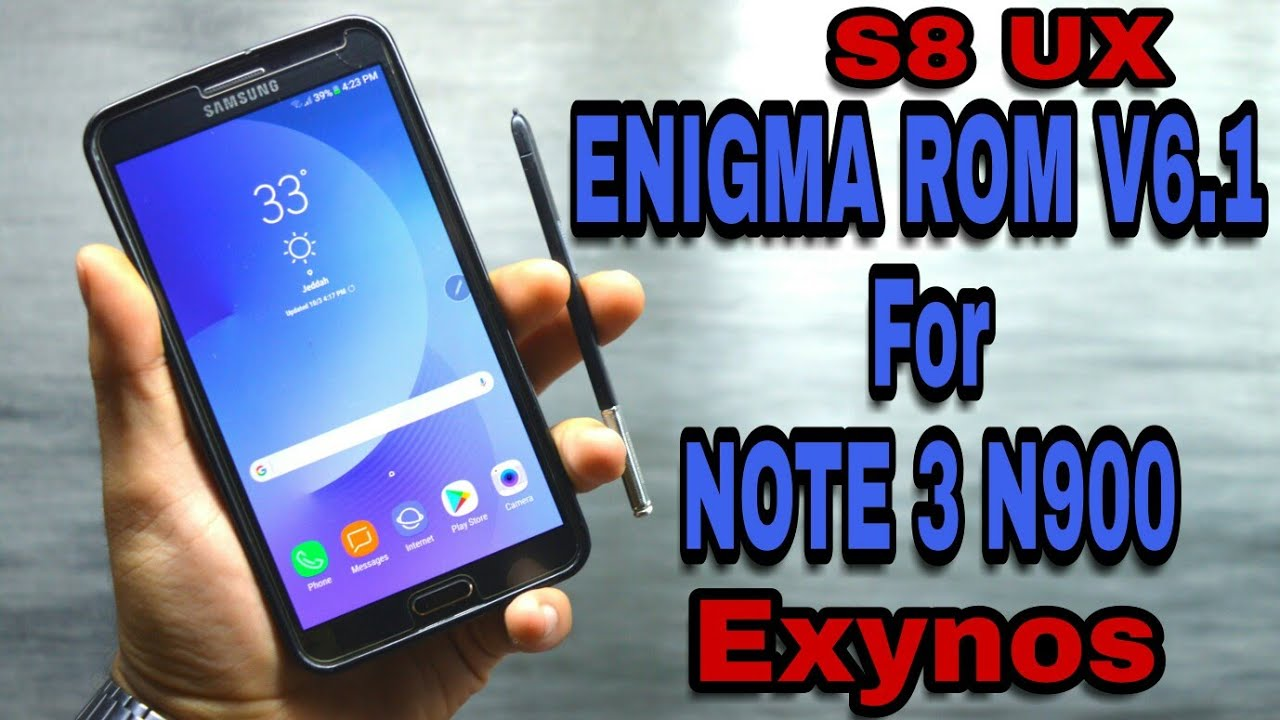 Enigma Rom S8UX v6 1 for Galaxy Note 3 n900