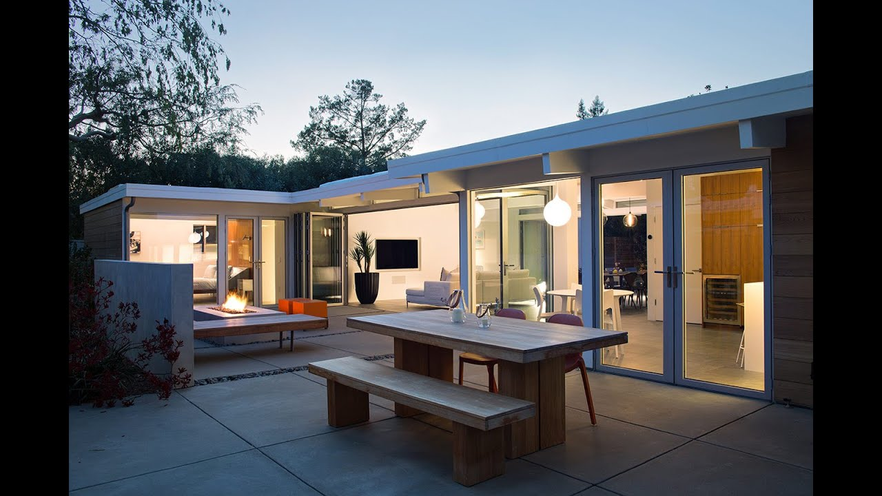 Openness Idea for Eichler House Renovation Design - YouTube