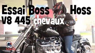 Essai Moto Boss Hoss By Laurent Cochet: un V8 de 445 ch