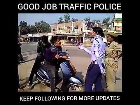 Balangir Traffic Police caught a Small boy Riding bike - funny video ll Chandradhwaj Bhoi