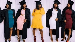 Graduation lookbook inspiration (USIU class of 2018)