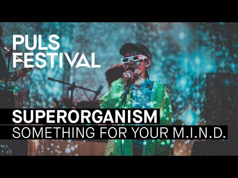 Superorganism - Something For Your M.I.N.D. (live beim PULS Festival 2017)