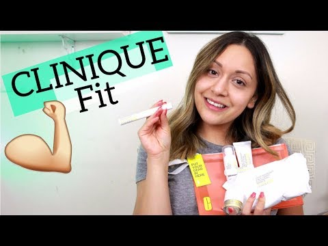 CLINIQUE FIT Complete Line Review! | BritnyMurilloBeauty