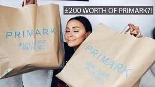 I SPENT £200 IN PRIMARK | Haul | Sarah Ashcroft