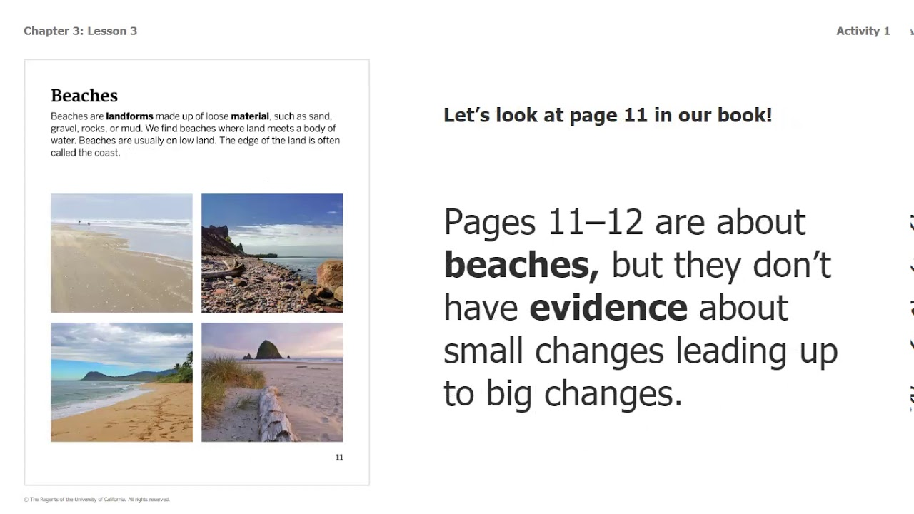 small resolution of Science Grade 2: Changing Landforms - Chapter 3