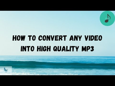 Convert Any Video To MP3 [ HQ ]