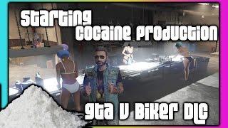 GTA 5 Online :: Biker DLC :: Cocaine Production!