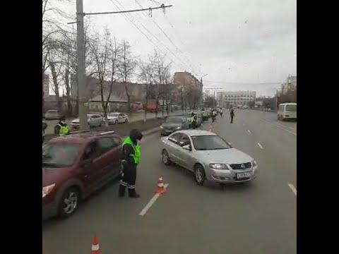 ГИБДД перекрывает дороги в Челябинске | 74.RU