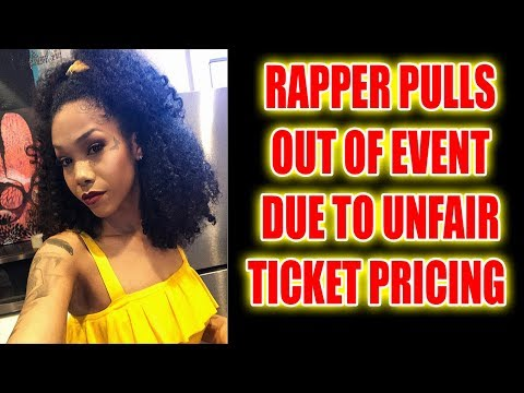 Rapper (Tiny Jag) Pulls Out Of Festival After Learning White People Charged Double For Tickets
