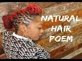 "Natural Hair Poem: ""I Love My Hair"""