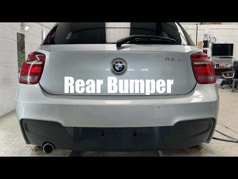 How To Remove BMW 1 Series Rear Bumper And Rear Light Removal DIY F20/F21