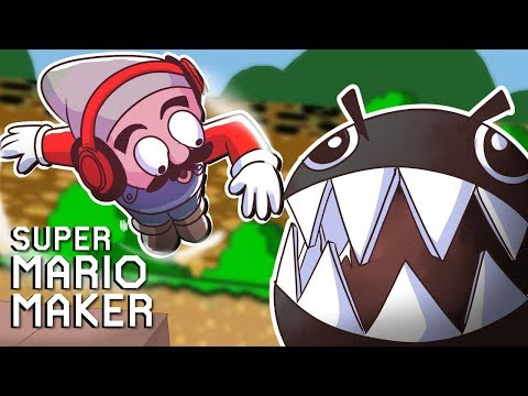 THEY GOT ME TWIRLING FOR MY LIFE!!! [SUPER MARIO MAKER] [#128]
