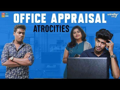 Office Appraisal Atrocities || Wirally Tamil || Tamada Media