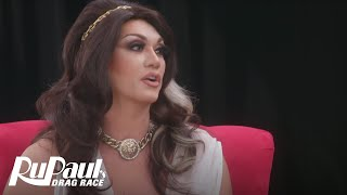 The Pit Stop: Snatch Game w/ Manila Luzon & Raja | RuPaul's Drag Race Season 10