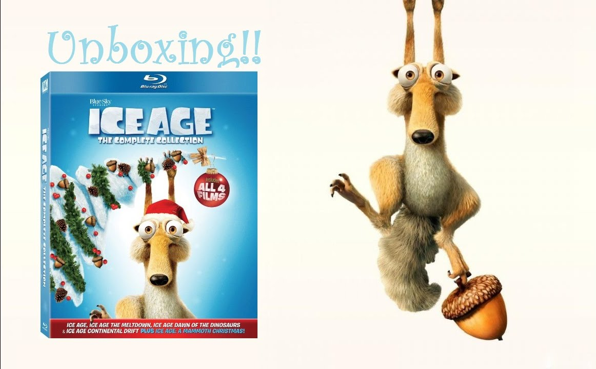 Ice Age Complete Collection Blu Ray Unboxing!! - YouTube