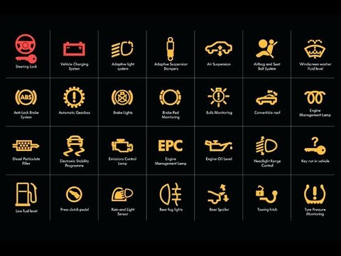 Warning Lights 0n Your Car's Dashboard - What Do They  Mean? || Car Work ||
