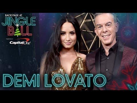 Demi Lovato Talks Upcoming Tour, New Music Video At KIIS FM's Jingle Ball