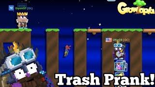 Trash Pranking People [Growtopia] ft.EryonGT