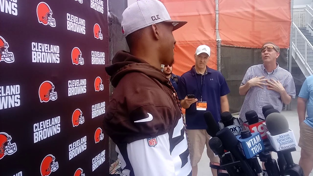 Damarious Randall eager to